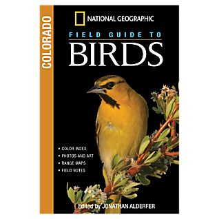 photo: National Geographic Field Guide to Birds: Colorado plant/animal identification guide
