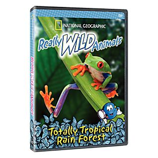 Really Wild Animals: Totally Tropical Rain Forest DVD