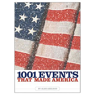 View 1001 Events That Made America - Softcover image