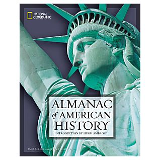 View National Geographic Almanac of American History - Softcover image