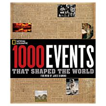 1000 Events that Shaped the World, 2008