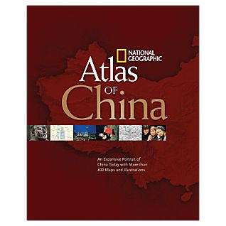 View National Geographic Atlas of China - Softcover image