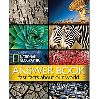 View National Geographic Answer Book - Hardcover image