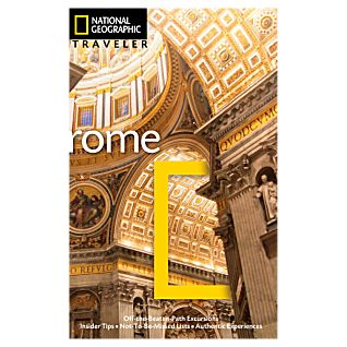 photo: National Geographic Traveler Rome international guidebook