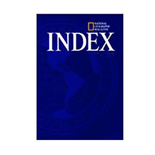 National Geographic 2010 Annual Index