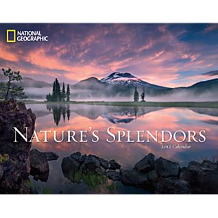 National Geographic Nature's Splendors 2012 Wall Calendar