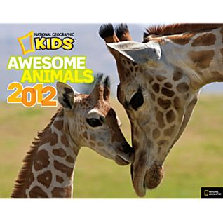 National Geographic Kids Awesome Animals 2012 Calendar