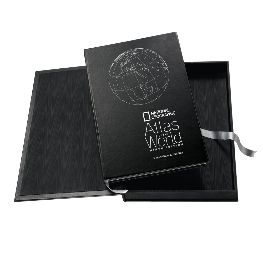 National Geographic Atlas of the World   Platinum Edition with