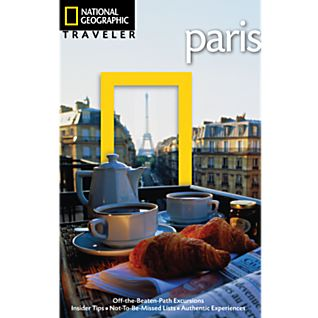 photo: National Geographic Traveler Paris international guidebook