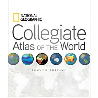 photo: National Geographic Collegiate Atlas of the World international map