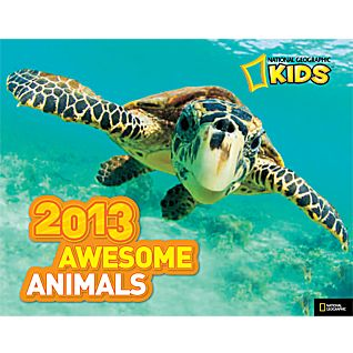 National Geographic Kids Awesome Animals 2013 Wall Calendar