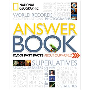 View National Geographic Answer Book - Softcover image