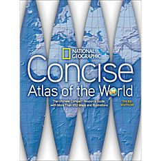 World Geographic Map Books