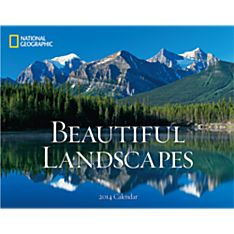 2014 National Geographic Beautiful Landscapes Wall Calendar