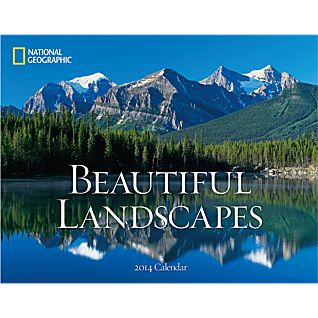 View 2014 National Geographic Beautiful Landscapes Wall Calendar image