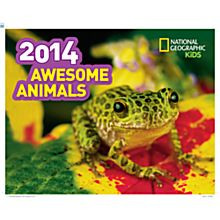 2014Awesome Animals Wall Calendar
