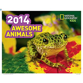 View 2014 National Geographic Awesome Animals Wall Calendar image