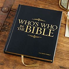 Who's Who In The Bible - Personalized Deluxe Edition