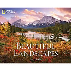 Wall Calendar with Landscapes