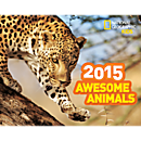 National Geographic 2015 Awesome Animals Wall Calendar