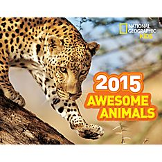 2015 Awesome Animals Wall Calendar - 9781426212901