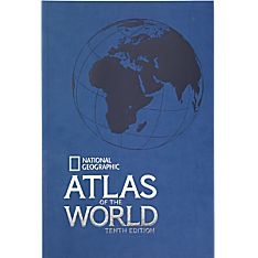 Softcover Atlas of the World