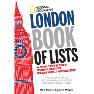 View National Geographic London Book of Lists image