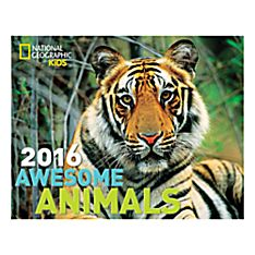 National Geographic 2016 Awesome Animals Wall Calendar