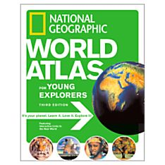 World Atlas for Young Explorers, 3rd Edition - 9781426300882