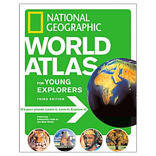 National Geographic World Atlas for Young Explorers, 3rd Edition