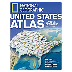 US Atlas for Young Explorers - Revised 3rd Ed, 2008