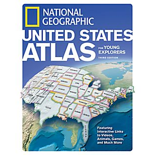 US Atlas for Young Explorers - Revised 3rd Ed