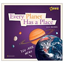 Every Planet Has A Place - Hardcover