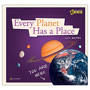 View Every Planet Has A Place - Hardcover image