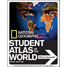 National Geographic Student Atlas of the World, 3rd Edition - Hardcover