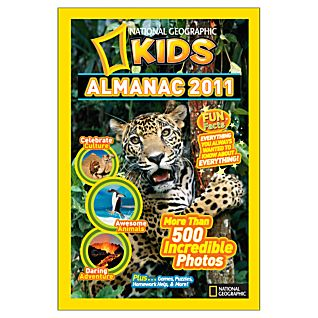 National Geographic Kids Almanac 2011 - Hardcover