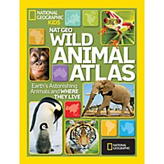 Nat Geo Wild Animal Atlas