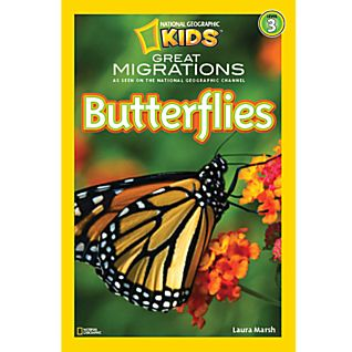 National Geographic Readers: Great Migrations: Butterflies