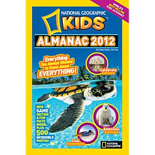 View National Geographic Kids Almanac 2012 - Hardcover image