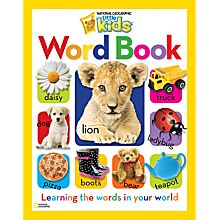 National Geographic Little Kids Word Book