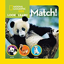 National Geographic Little Kids Look and Learn: Match