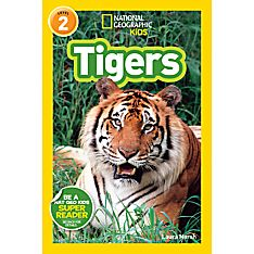 National Tiger Kids Geographic Book