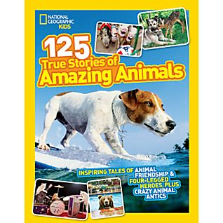 View National Geographic Kids 125 True Stories of Amazing Animals image
