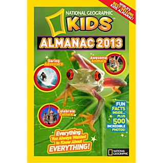 National Geographic Kids Almanac 2013 - Hardcover