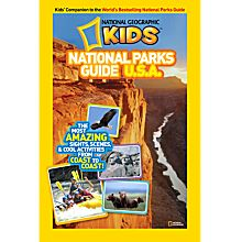 Kids National Parks Guide U.S.A., Ages 8 and Up