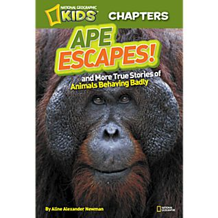 View National Geographic Kids Chapters: Ape Escapes! image