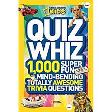 Quiz Whiz Book