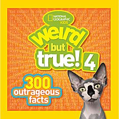 Weird Facts Books for Kids