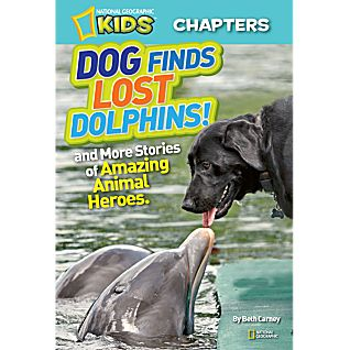 View National Geographic Kids Chapters: Dog Finds Lost Dolphins! image