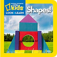 National Geographic Little Kids Look and Learn: Shapes!